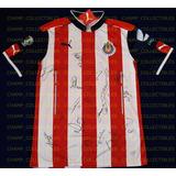 Jersey Firmado Chivas Guadalajara Campeon Doblete Autografo