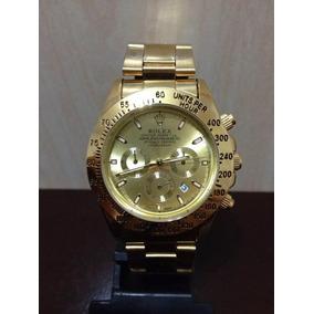 Relógio Masculino Daytona Dourado Rolex