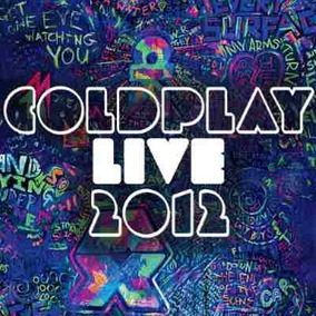 Coldplay Live 2012 Cd + Dvd Oferta Nuevo Sellado En Stock