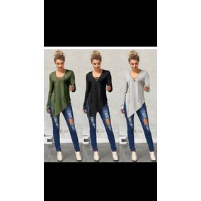 Blusa A La Moda Diseño Exclusivo De Algodon