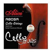 Cuerda Suelta De Cello A (1ra) 4/4 Alice A805a