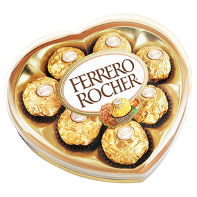 Chocolates Ferrero Rocher Forma Corazón X8 Und. Inmediata