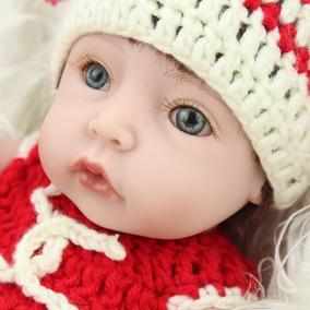 Bebé Reborn 25 Cm Ropa Tejida A Mano Entrega Inmediata.