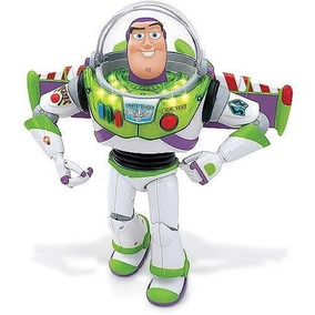 Boneco Buzz Lightyear Ori Fala Portugues Toy Story Multikids