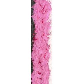 Bufanda De Plumas De Color Rosa Claro Para Niños
