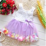 Vestido Infantil -princesa - Saia Com Pétalas. Lindo!!