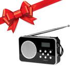 Radio Portátil Con Reloj Y Alarma Xi-ra15 Xion Regalo !