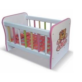 Brinquedos | Lindo Berço P/ Boneca Infantil L30 A36 P58cm
