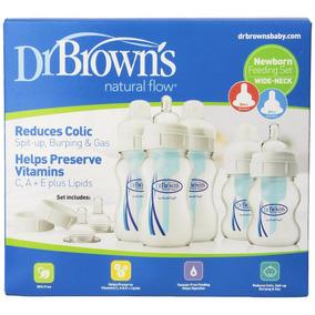 Dr Brown 5 Biberones Anticolicos Kit Recién Nacido Avent