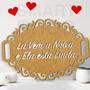 Placa La Vem A Noiva Mdf Casamento *personalize C/ Sua Frase
