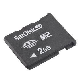 Memoria Scandisk Micro M2 2gb Para Sony