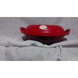 Tupperware -cristal Pop Em Policarbonato -vermelha- 710 Ml