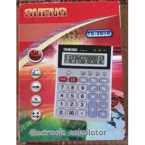 Lote Com 5 Calculadora Calculadoras 12 Dígitos Sheng