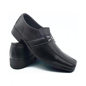Sapato Social Fox Masculino Preto Com Fivela Personalizada