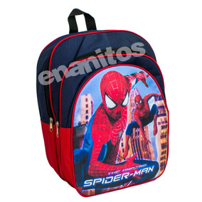 Morral O Bolso Escolar De Spiderman