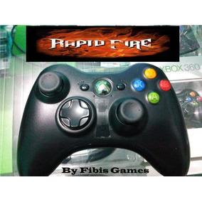 Controle Turbo Rapid - Fire Xbox 360 - 17 Modos