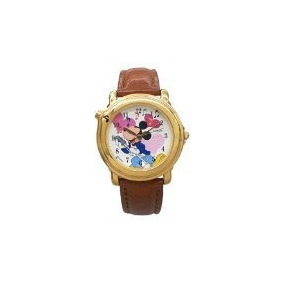 Lorus Musical Reloj Disney Mickey Mouse Con Caja De Color O