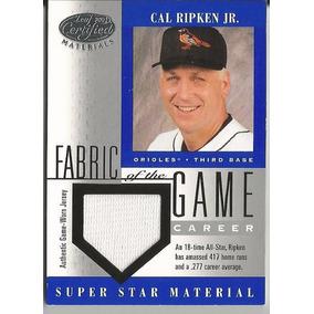 Cal Ripken Jr. 2001 Leaf Certified Fotg Material Jersey /277