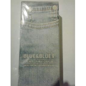 Colonia Blue & Blue 75ml Para Dama Cyzone. Original