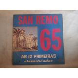 Lp San Remo 65 - As 12 Primeiras Classificadas, Disco Vinil