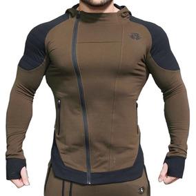 Hombres Músculo Gym Entreno Body Engineer Sudadera Deporte