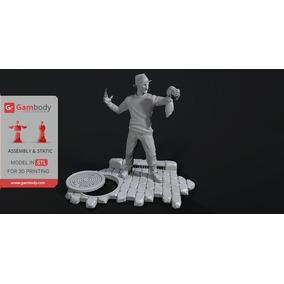 Pack Modelo+busto Freddy Krueger Stl Impressora 3d