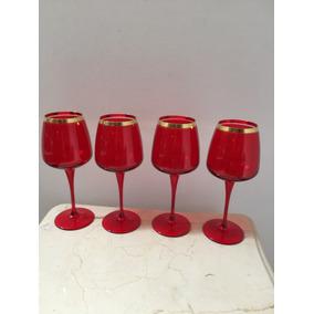 Taças Vermelha