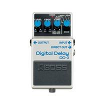 Pedal Para Guitarra Boss Dd-3 Branco Efeito Digital Delay