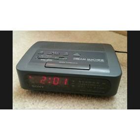 Reloj Despertador Sony Icf-c26 Radio Fm Am