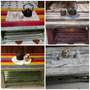 Mesa Ratona Madera Rustica Vintage Envios