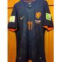 Camisa Da Holanda Autografada Copa Do Mundo 2014