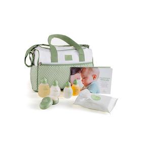 Kit Mamãe Bebê Natura Com Bolsa Maternidade - C/ Produtos