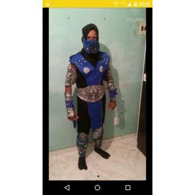 Fantasia Subzero Mortal Kombat Frete Grátis