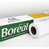 Rollo Boreal Para Plotter 91.4x 50mt 80gr (buje 2
