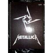 Caderno Universitario Eacolar Metallica 200 Folhas