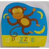 Puzzle 12 Piezas Grandes Rompecabezas Pequeño Mono +3 Años