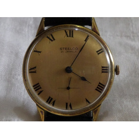 Reloj Steelco Segundero A Las Seis Vintage De Cuerda
