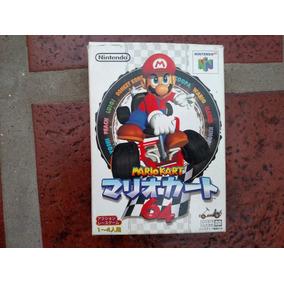 Mario Kart 64 Orig Jap Para Nintendo 64 N64 Completo Kuy