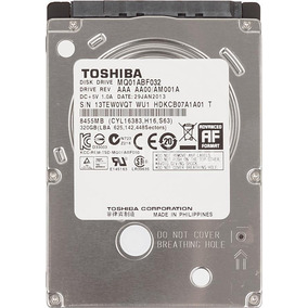 Hd 2,5 320gb 7mm Para Note/net/ultrabook/xbox Sata3 5400rpm