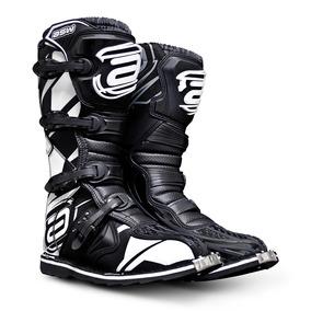 Bota Asw Core Importada Off Road Motocross Trilha Branca