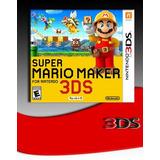 Super Mario Maker 3ds Fisico - Audiojuegos