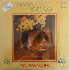 Lp Two Man Sound Disco Samba Versión Original