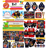 Kit Imprimible Angry Birds Candy Bar Invitaciones Souvenirs