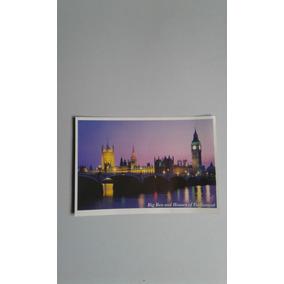 Cartão Postal Big Ben And Houses Of Parliament