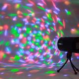Luces Led Giratorio Rgb + Tripode Para Karaoke Disco Fiesta
