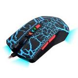 Mouse Gamer Netmak Triton Retroiluminado 2400 Dpi