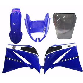 Kit Carenagem Xt660 Azul C/ Bolha Bombachinijetcross
