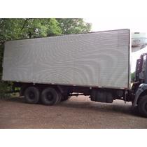Baú Câmara Frigorífico Gancheira Niju 2010 Para Truck