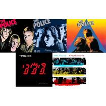 The Police - Lote 5 Cd Discografia - Nuevos Sellados