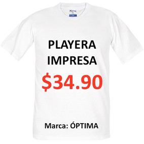 Playera Personalizada/promocional Impresa En Serigrafía